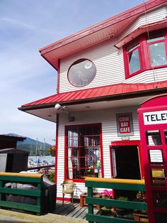 Cow Bay Cafe's reputation carries far beyond Prince Rupert - photo credit Carol Patterson Vancouver City, Vancouver Island, Visit Canada, Canada 150, Haida Gwaii, Prince, Ice Houses, Unusual Homes, Adventure Tours