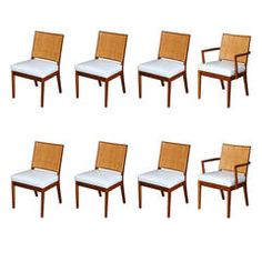 Vintage Baker Dining Chairs