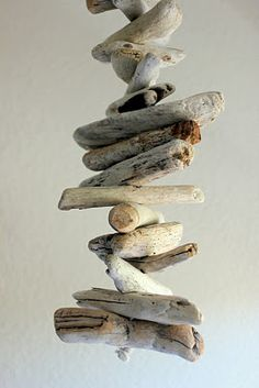 kojotutorial: driftwood mobile   kojodesigns