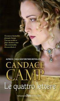 """http://www.sognipensieriparole.com/2014/09/oggi-disponibile-le-quattro-lettere-di.html: Oggi disponibile: """"Le quattro lettere"""" di Candace Camp"""