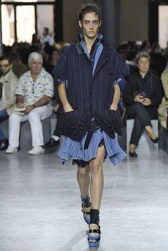 Sacai, P-E 17 - L'officiel de la mode