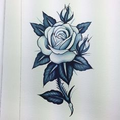 31 Best Rose With Thorns Tattoo Images Rose Thorn Tattoo Rose