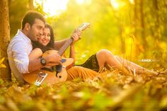 Heart Strings - Guitar Photo Shoots For The Romantic Couples!