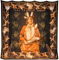 Kermit Oliver - Black Postal Worker from TX who designs $500 scarves for Hermes