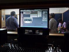 Banda Clamar - Louvor e Adoração ensaiando no estúdio CFM Freguesia | CFM Freguesia Estudio e Curso de Música