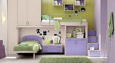 I could see my girls sharing this room!
