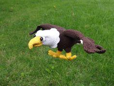 Sam the Eagle Crochet Pattern por IlDikko en Etsy