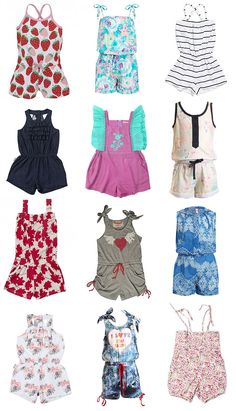 New season jumpsuits/playsuits for girls - Style My Child