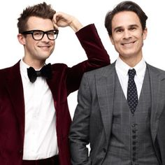 Brad and Gary Prom King And Queen, Brad Goreski, Cutest Couple Ever, True Gentleman, Famous Faces, Cute Couples, My Idol, Men Dress, Movie Tv