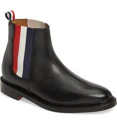 Main Image - Thom Browne Chelsea Boot (Men)