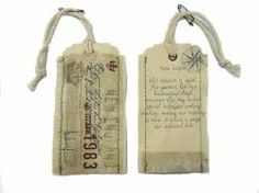 Image result for stamped fabric label