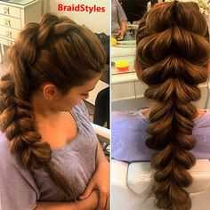 بافت حلزونی کف سری Chignon Hair, Dreadlocks, Hair Styles, Beauty, Hair Plait Styles, Hair Makeup, Hairdos, Haircut Styles, Dreads