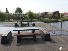 Picknickset DeLuxe Antraciet bij Wateringse Veld College in Den Haag