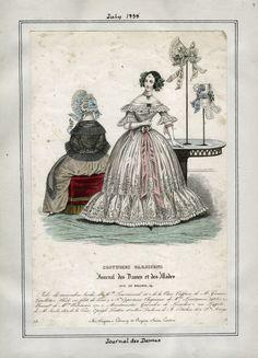 Journal des Dames - Costume Parisien July 1838 LAPL