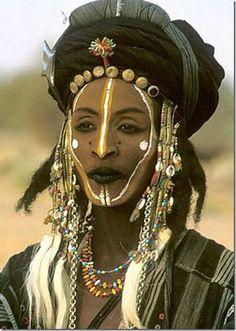 Homem Wodabe - Africa