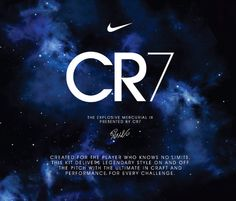 November 2013 - The Nike Mercurial IX CR Galaxy is released.  http://www.prodirectsoccer.com/Products/Nike-Football-Boots-Nike-Mercurial-Vapor-IX-CR7-FG-Firm-Ground-Soccer-Cleats-Galaxy-Dark-ObsidianMetallindoor-Silver-68020.aspx