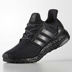 That's right, folks. The adidas #UltraBoost 3.0 is releasing in #TripleBlack. For a first look at the shoes, tap the link in our bio. #kicksonfire #sneakerwatch #kicks0l0gy