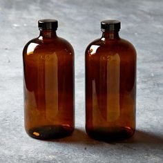 Kombucha Growler Bottles, Set of 2 ~ Supplies for brewing kombucha from Williams Sonoma