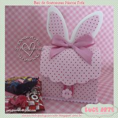 Bunny Crafts, Easter Crafts, Easter Candy, Easter Eggs, Diy And Crafts, Crafts For Kids, About Easter, Diy Purse, Pretty Box