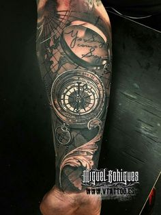 Frankfurt Tattoo Convention 2016 I Navy Tattoos, Leg Tattoos, Body Art Tattoos, Sleeve Tattoos, Cool Tattoos, Maori Tattoos, Nautical Tattoos, Ship Tattoos, Arrow Tattoos