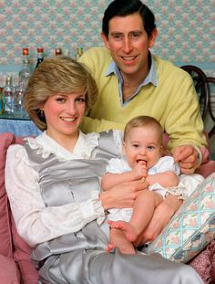 Prince William- Lady Diana - Prince Charles