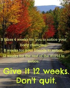 I'm so motivated for body change! Thank goodness for my husband! Only day 2 and my body is so sore i couldn't push myself with out him:-)