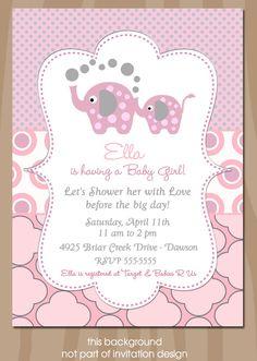 invitaciones de baby shower para mellizos invitaciones para