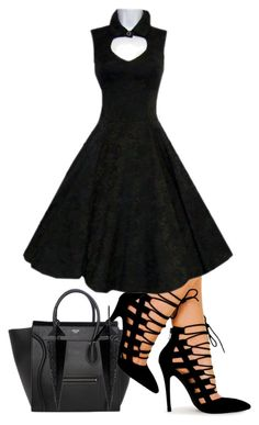 """""""BLACK is BACK"""" by grandmasfood ❤ liked on Polyvore featuring Oasis"""