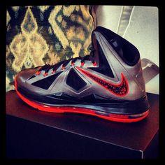 Nike LeBron X Hot Lava
