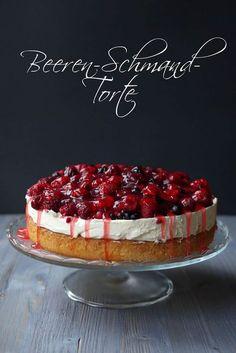 Beeren-Schmand-Torte | Backen | Torte | Rezept