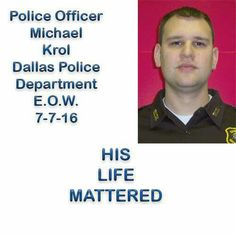 #RIP #POMICHAELKROL #DALLAS PD #BBO Police Wife Quotes, Police Girlfriend, Cop Wife, Police Life, Police Family, Cops Humor, Police Humor, Police Officer, Law Enforcement Quotes