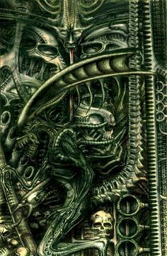 hr giger necronomicon - Google Search                                                                                                                                                      Más