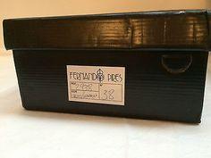 Fernando Pires Shoes Brown Croco Leather Strappy Sandals NIB 38 High Heels 8.5 8