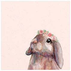 Bunny With Flower Crown Wall Art art painting artworks Bunny With Flower Crown Wall Art Bunny Painting, Bunny Drawing, Bunny Art, Cute Bunny, Baby Bunnies, Easter Paintings, Animal Paintings, Bunny Sketches, Lapin Art