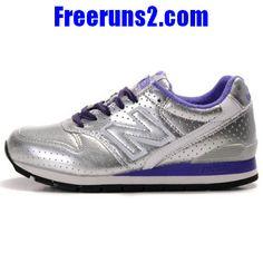 more photos 457dd 5056b Wholesale Cheap New Balance NB Silver Purple Blue Shoes Fashion Shoes Store