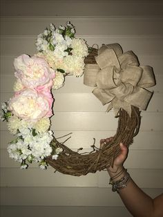 Spring Wreath by me