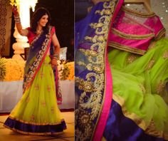 *beautiful dress* Check out more desings at: http://www.mehndiequalshenna.com/