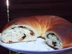 Diana's Cook Blog: Brioche roulée aux fruits secs (facile)