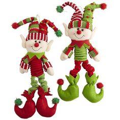 Hanging Elf Ornament
