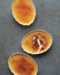 Cinnamon-Honey Creme Brulee Recipe