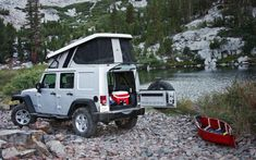 Jeep Wrangler Unlimited camper conversion