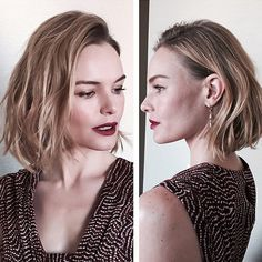 Kate Bosworth Is the Newest Member of the Lob Club!  #InStyle