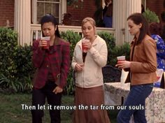 Then let it remove the tar from our souls