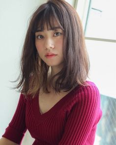 Grow by GARDEN 細田 Mid Length Hair, Shoulder Length Hair, Hair Inspo, Hair Inspiration, Medium Hair Styles, Long Hair Styles, Japanese Hairstyle, Asian Hair, Young And Beautiful