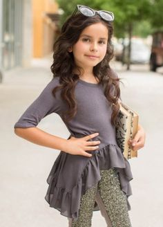 Joyfolie Dylan Top and Leggings. My favorite top paired over the most awesome sequin leggings! Girls Fall Fashion, Little Girl Fashion, Cute Fashion, Little Girl Outfits, Toddler Outfits, Kids Outfits, Baby Girl Dresses, Baby Dress, Cute Dresses