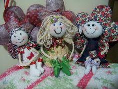 Bonecas Mini decoração do quarto infantil