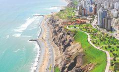miraflores_elfaro01 by detesta_mess, via Flickr Costa, Mountain View, Peru, Golf Courses, America, River, World, Outdoor, Frida Quotes