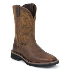 "Justin Men's 11"" Composition Toe Western Work Boots. I wear them everyday."