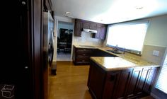 Kitchen Remodel with Custom Cabinets with Custom Bar