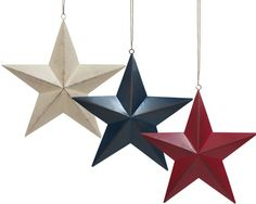 Metal Star Wall Plaque Collection // Via Shop My Picks: 4th Of July Decor